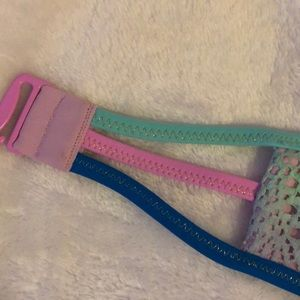 Pink purple green blue cute bikini top from VS 💖
